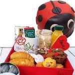 Desayunos Delivery | Arreglos con flores | Desayunos para Damas - Cod:ENL02