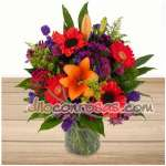 Arreglos de Rosas | Florero con Flores | Arreglo de flores para Mujer | Floreria - Cod:ENL14