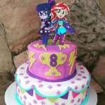 Torta de Equestria Girls | Tortas temáticas | Torta Equestria girl 03 - Cod:EQG03