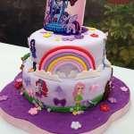Torta equestria girls | Tortas infantiles | Torta Equestria girl 08 - Cod:EQG08