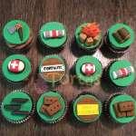 Cupcakes Fornite Especial   imágenes de Fortnite   Diseños de tortas - Cod:FNC07