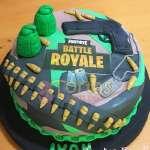 Torta Fortnite Battle Royale   Tortas De Cumpleaños Fortnine - Cod:FNC09