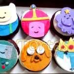 Muffins Hora de Aventura | Torta Hora de Aventura - Adventure Time Cake - Cod:HAT09