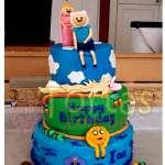 Torta Especial Aventure Time | Torta Hora de Aventura - Adventure Time Cake - Cod:HAT13