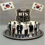 Torta BTS 3 | Kpop Cakes | Tortas Coreanas - Cod:KPO04
