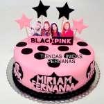 Torta Black Pink | Kpop Cakes | Tortas Coreanas - Cod:KPO05