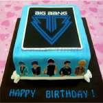 Torta Big Bang | Kpop Cakes | Tortas Coreanas - Cod:KPO06