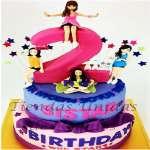 Torta Sistar 2 | Kpop Cakes | Tortas Coreanas - Cod:KPO12