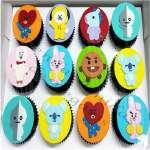 Cupcake Kpop | Kpop Cakes | Tortas Coreanas - Cod:KPO14