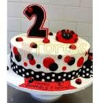 Torta Lady Bug | Miraculous ladybug cake | Torta de ladybug - Cod:LBB04