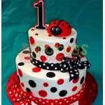 Torta del tema Mariquita | Miraculous ladybug cake | Torta de ladybug - Cod:LBB05