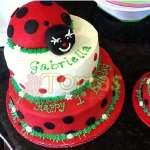 Pastel de Mariquita | Miraculous ladybug cake | Torta de ladybug - Cod:LBB07