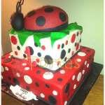 Pastel del Tema Mariquita | Miraculous ladybug cake | Torta de ladybug - Cod:LBB09