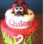 Pastel de la tematica Mariquita | Miraculous ladybug cake | Torta de ladybug - Cod:LBB10