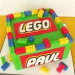 Torta Lego 04 | Imágenes de Torta LEGO | Pastel de lego - Cod:LGT07