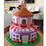 Torta Lego Friends 04 | Imágenes de Torta LEGO | Pastel de lego - Cod:LGT15