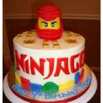 Torta Lego Ninjago 05 | Imágenes de Torta LEGO | Pastel de lego - Cod:LGT29