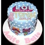 Torta Lol Glitter Globe | Torta lol - Cod:LSP03