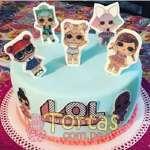 Torta LOL Surprise 08 | LOL Surprise Dolls Birthday Cake | Tortas de cumpleaños - Cod:LSP08