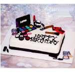 Torta de Maquillaje | Torta mac | Tortas de maquillaje | Torta para chicas | Tortas - Cod:MAC05