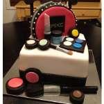 Torta Maquillaje con Cartera MAC | Torta mac | Tortas de maquillaje | Torta para chicas | Tortas - Cod:MAC08