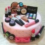 Pastel MAC | Torta mac | Tortas de maquillaje | Torta para chicas | Tortas - Cod:MAC13