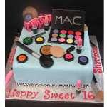 Pastel Maquillaje Tematico MAC | Torta mac | Tortas de maquillaje | Torta para chicas | Tortas - Cod:MAC15