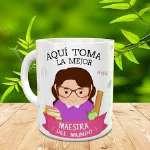 Regalos para el Día del Maestro | Taza Dia el Maestro | Tazas Personalizadas - Cod:MAE02