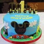 Torta Mickey Mouse para niño | Tortas De Mickey Mouse - Cod:MCK04