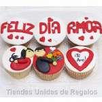 Delivery de Regalos | Regalos Delivery | Cupcakes Felia Dia - Cod:MCM06