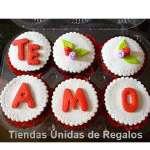 Cupcakes de Amor Ddelivery | Regalos Delivery | Regalos Delivery Peru - Cod:MCM07