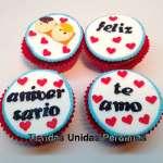 Cupcakes Aniversario | Regalos de Amor para Mujeres - Cod:MCM23