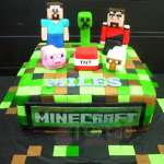 Torta tematica Mine Craft | Tortas Minecraf | Tortas | Torta Minecraft - Cod:MCT01