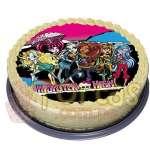 Foto-Torta Monster High | Tortas Monster High - Cod:MHI06