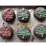 Alfajores con diseño de Navidad | Alfajores Delivery | Alfajores a Domicilio | Casa del Alfajor - Cod:NAC03