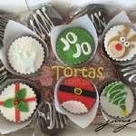 Cupcakes con tema Navidad | Cupcakes para Navidad - Cod:NAC09