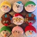 Cupcakes para Navidad | Cupcakes de Naviad - Cod:NAC10
