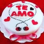 Torta Para Enamorada | Pasteles | Pasteles de amor | Torta de amor - Cod:NMR09