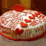 Torta de amor para novia | Pasteles | Pasteles de amor | Torta de amor - Cod:NMR10