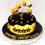 Torta de Año Nuevo  | Pastel año nuevo | Tarta de año nuevo - Cod:NYR07
