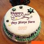 Torta Nueva 08 | Pastel año nuevo | Tarta de año nuevo - Cod:NYR08