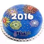 Pastel de año Nuevo | Pastel año nuevo | Tarta de año nuevo - Cod:NYR09