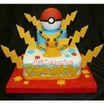 Torta Pokebola y Picachu | Tortas de Pokemon - Cod:PKG11