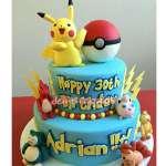 Torta Picachu y Pokebola | Tortas de Pokemon - Cod:PKG13