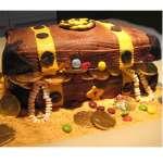Tortas de Pirata | Tortas de Piratas para Fiestas Infantiles - Cod:PRT11
