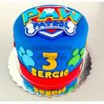 Torta de Paw Patrol | Torta Paw Patrol niño | Tortas de Paw Patrol - Cod:PWP01
