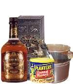 Whisky Chivas Delivery | Licores con piqueo gourmet - Cod:DJK11