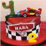 Torta Cars | Torta de McQueen - Cod:RMQ05