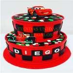 Torta Cars 10 | Tortas de cars para cumpleaños | Tortas Pixar - Cod:RMQ16