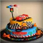 Torta Cars 11 | Tortas de cars para cumpleaños | Tortas Pixar - Cod:RMQ17
